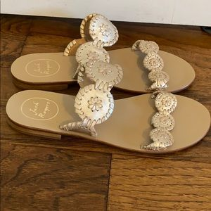 Jack Rogers sandals never worn!